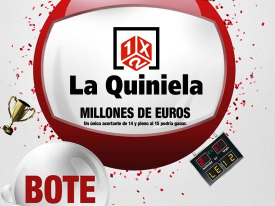 Bote de La Quiniela: Loteriacano.com
