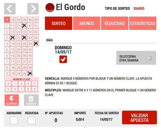 Jugar al Gordo de la Primitiva: Loteriacano.com