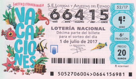 Décimo lotería Nacional: loteriacano.com