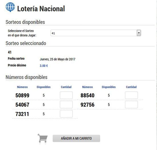Jugar a La Lotería Nacional: Loteriacano.com
